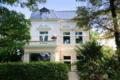 Marienthal ist ein Hamburger Stadtteil im Bezirk Hamburg Wandsbek. Stadtvilla im Baustil der Gründerzeit / Historismus in der Wandsbeker Claudiusstraße.