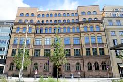 Fotos aus der Hamburger  Innenstadt. Ehem. Verwaltungsgebäude an der Stadthausbrücke, erbaut 1899 - Architekten Carl Zimmermann und Johann Christian, z. Zt. Nutzung als Designhotel.