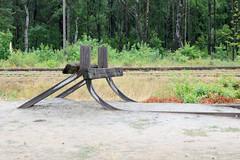 Gedenkstätte des deutschen Vernichtungslagers Sobibor in Polen.