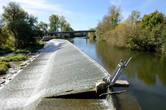 Fotos vom Wasserkraftwer in der Gemeinde Rottenacker an der Donau im Bundesland  Baden-Württemberg.