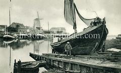 Historische Bilder der niederländischen Stadt Harderwijk.