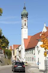 Dillingen an der Donau ist eine Große Kreisstadt  im Freistaat Bayern mit knapp 20 000 EinwohnerInnen.