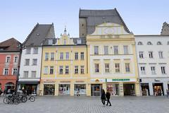 Straubing ist eine kreisfreie Stadt  in Ostbayern - das Stadtgebiet Straubings erstreckt sich entlang der Donau.