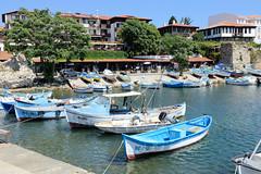 Bilder von Nessebar, Stadt an der Schwarzmeerküste in Bulgarien.