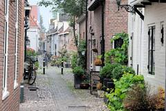 Bilder aus der Stadt Elburg am Veluwemeer in den Niederlanden - ehemalige Hansestadt.