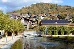 Bilder vom Ort Obernzell am Ufer der Donau in Bayern.