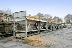Asphaltmischwerk in Wilstedt - Gemeinde Tangstedt, Schleswig-Holstein.