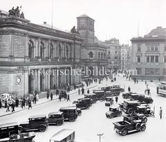 Bilder aus der Hamburger Innenstadt - Stadtteil Altstadt.