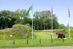 Fotos von der ehemaligen  Hansestadt Ommen in den Niederlanden - Ommener Schanze, Ommerschans.