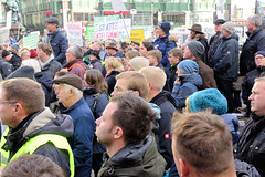 Bauern-Demo in  Hamburg - tausende Landwirtinnen und Landwirte aus ganz Norddeutschland haben gegen neue Umweltvorschriften demonstriert.