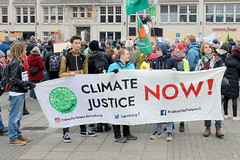 Demonstration Fridays for Future am 15.11.2019 in Hamburg.