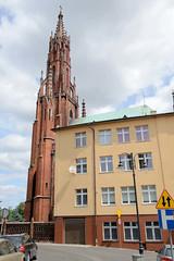 Bilder aus der Stadt Luban - Lauban in Polen; bis 1815 Mitglied im Oberlausitzer Sechsstädtebund.