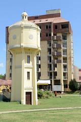 Bilder von Vukovar, Stadt an der Donau in Kroatien.