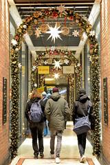 Weihnachten in der Hambuger Innensstadt - Altstadt.