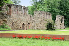 Bilder vom Kloster Nimbschen, Marienthron - eine ehemalige Zisterzienserinnenabtei bei Grimma in Sachsen; dort lebte als Klosterfrau  bis 1523  Katharina von Bora.