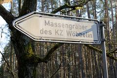 KZ-Gedenkstätte Wöbbelin - ehem. Aussenlager vom Hamburger KZ-Neuengamme.