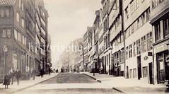 Blick vom Schaarmarkt in die Straße Venusberg in der Hamburger Neustadt.