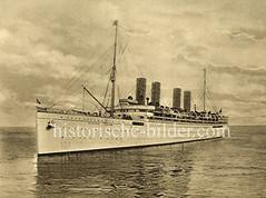 Lustdampfer Viktoria Luise der Hamburg Amerika Linie, erbaut 1900.
