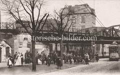 Historische Fotografie von der Sternbrücke - Eisenbahnbrücke.