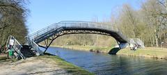 FußgängerInnenbrücke - Gaartzer Brücke über den Störkanal in der Lewitz