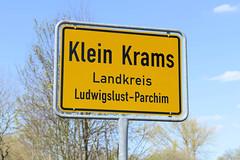 Der Ort Klein Krams wurde 1431 erstmals als Crampetze urkundlich erwähnt und gehört jetzt zur Gemeinde Alt Krenzlin.