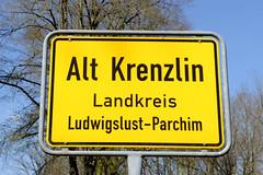 Alt Krenzlin ist eine Gemeinde im Landkreis Ludwigslust-Parchim in Mecklenburg-Vorpommern.