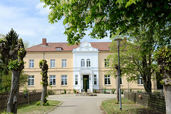 Der Ort Daschow liegt im Landkreis Ludwigslust-Parchim in Mecklenburg-Vorpommern und gehört zur Gemeinde Gallin-Kuppentin.