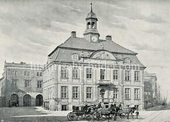 Altes Rathaus von Altona, errichtet 1721 - Entwurf Stadtbaumeister Claus Stallknecht.