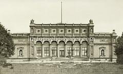 Historisches Bild von der Hamburger Kunsthalle am Glockengiesserwall / Ferdinandtor.
