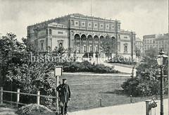 Historisches Bild von der Hamburger Kunsthalle am Glockengieserwall,  Ferdinandtor
