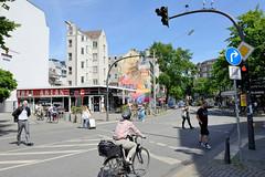 Fotos aus den Hamburger Stadtteilen und Bezirken - Bilder aus Hamburg St. Georg, Bezirk Hamburg Mitte; Lange Reihe / Spadenteich.