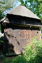 Fotos aus dem Hamburger Stadtteil Altengamme, Vierlande - Bezirk Hamburg Bergedorf. Historischer Holzspeicher am Horster Damm, errichtet 1562.