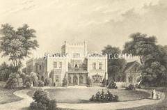 Alte Slomann-Villa am Harvestehuder Weg in Hamburg Harvestehude; errichtet 1848 - Architekt Jean David Jollasse.