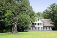 Schlosspark von Ludwigslust in Mecklenburg-Vorpommern.