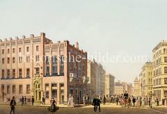 Gebäude der Patriotischen Gesellschaft an der Hamburger Trostbrücke; fertig gestellt 1847, Architekt Theodor Bülau.