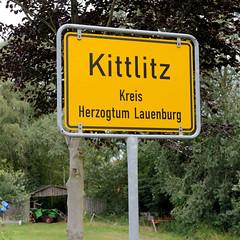 Kittlitz ist eine Gemeinde im Kreis Herzogtum Lauenburg in Schleswig-Holstein.
