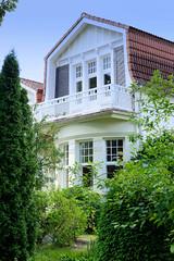Aumühle ist eine Gemeinde im Kreis Herzogtum Lauenburg in Schleswig-Holstein und gehört zur Metropolregion Hamburg; Villa an der Lindenstraße,