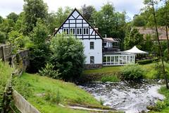 Aumühle ist eine Gemeinde im Kreis Herzogtum Lauenburg in Schleswig-Holstein und gehört zur Metropolregion Hamburg; Restaurant am Mühlenteich.