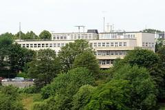 Ehemalige Hamburger Seefahrtschule - Rainvilleterrasse, Ottensen.