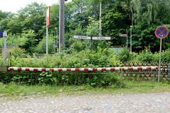 Friedrichsruh ist ein Ortsteil der Gemeinde Aumühle, Kreis Herzogtum Lauenburg in Schleswig-Holstein; ehem. Bahnübergang.