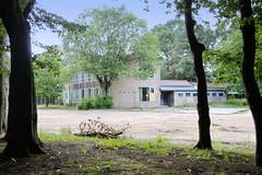 Fotos aus dem Hamburger Stadtteil Horn - Bezirk Hamburg Mitte; leerstehende Schulgebäude an der Weddestraße.