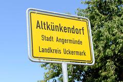 Altkünkendorf ist ein Dorf im Landkreis Uckermark in Brandenburg; es liegt am Rande der UNESCO-Weltnaturerbestätte Grumsiner Forst.