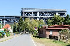 Historisches Schiffshebewerk Niederfinow am Oder-Havel-Kanal bei Eberswalde  in Brandenburg.