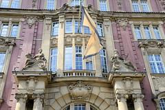 Fotos aus dem Hamburger Stadtteil Altstadt, Bezirk Hamburg Mitte. Gebäude der Alten Oberfinanzdirektion, erbaut 1910 - Architekt Albert Erbe; Verkauf 2012 - jetzt Hotelnutzung.