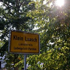 Klein Laasch ist ein Ortsteil der Stadt Neustadt-Glewe im Landkreis Ludwigslust-Parchim in Mecklenburg-Vorpommern.