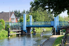 Fotos von der Stör-Wasserstraße - Wasserweg zwischen dem Schweriner See und dem Elde-Müritz-Wasserweg; Straßenbrücke in Plathe.