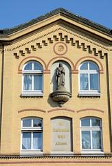 Fotos aus dem Hamburger Stadtteil Borgfelde, Bezirk Hamburg Mitte; St. Gertrudsstift an der Bürgerweide, errichtet 1884 - Architekt Peter von der Heyde.