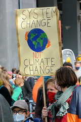 Klimastreik - Demonstration  Fridays For Future in Hamburg am 25.09.2020.