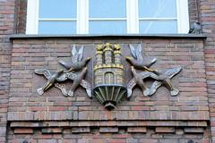 Dienstgebäude der Finanzbehörde Hamburg, ehem. Finanzdeputation am Gänsemarkt in der Hamburger Neustadt.