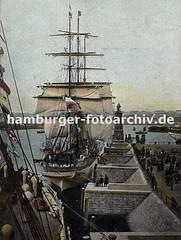 Historisches Fotomaterial - Geschichte des Hamburger Hafens.